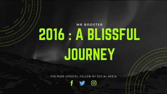 2016 : A Blissful Journey